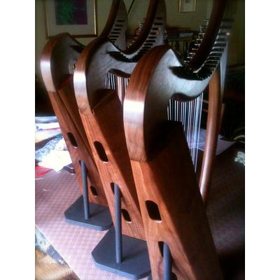 Walnut Harps